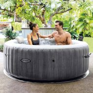 intex graywood hot tub hire
