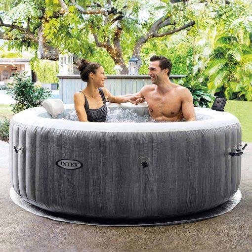 intex graywood hot tub hire